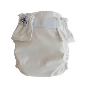 Baby Beehinds Magic-Alls AIO (All-In-One) Touch Fastener - White