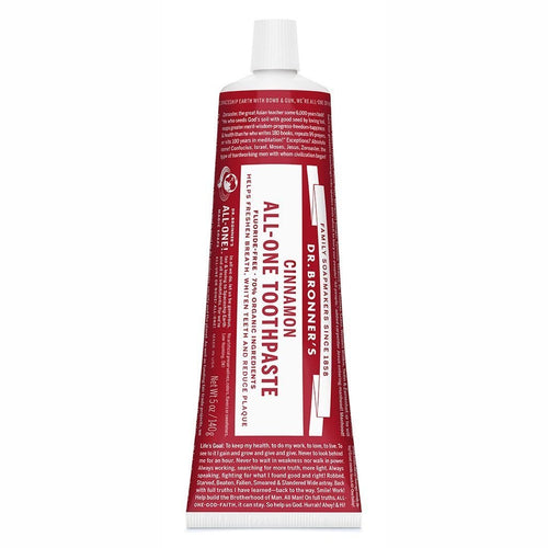 Dr. Bronner's Toothpaste, Cinnamon