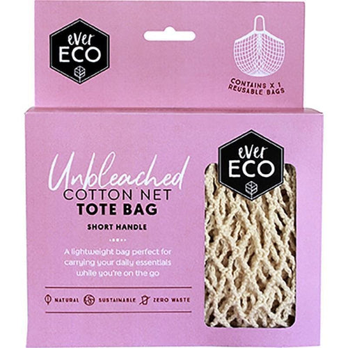 Ever Eco Netted Cotton Shopping Bag, Short Handle