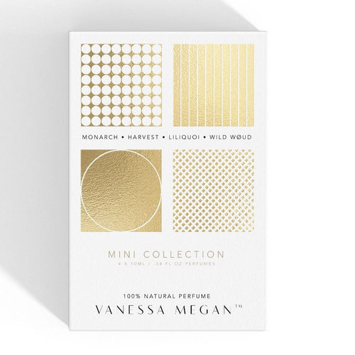 Vanessa Megan 100% Natural Perfume, Mini Collection