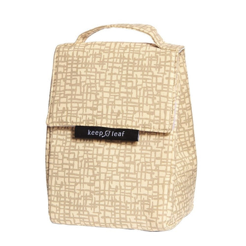 Keep Leaf Insulated Organic Lunch Bag, Mesh