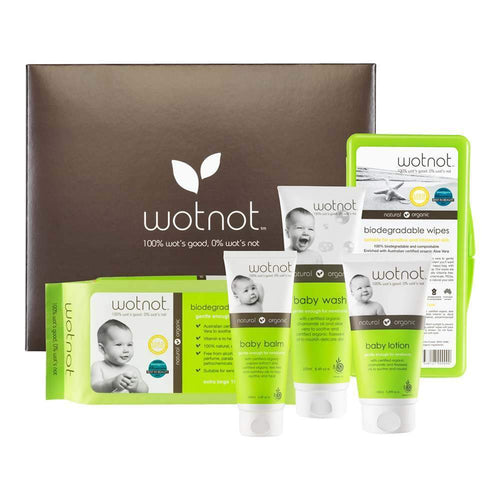 Wotnot Deluxe Natural Baby Gift Box