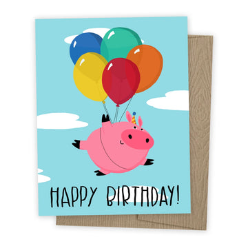 Flying Pig Birthday