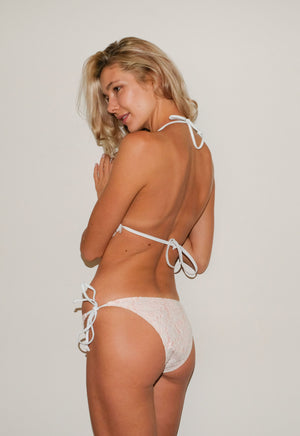 Strawbery Cream Lacy Bikini