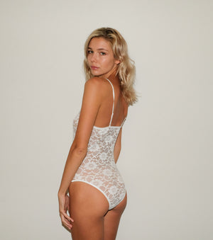 Sheer Lace Body Suit