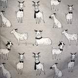Custom Fabric- Fabric Goat