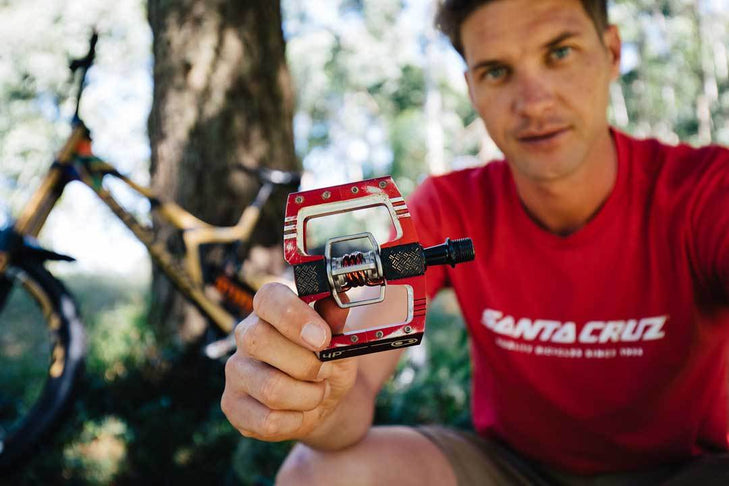 Greg Minnaar Discusses Crankbrothers New Mallet DH