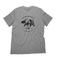 Bear Sketch Tee Grey