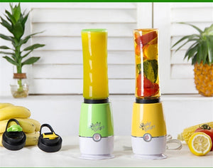 Mini Portable Fruit Blender Electric Juice Extractor Ice Vegetable Smoothie Mixer with Travel Cup