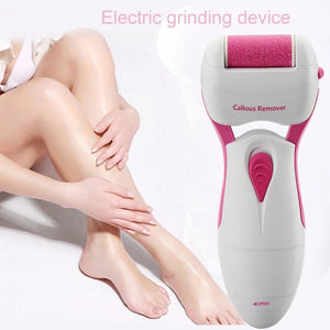Portable Electric Grinding Foot tools Dry Battery Type Callus Remover Electric Grinding Foot Device Dead Skin Remover Foot Care
