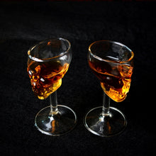 75ml Skull Head Shot Glass vodka whisky Beer Tea Glass Cup Wine Coffee Mug Skull Head Shot Shape for Party Bar Drinkware