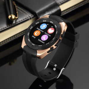 CURREN X4 Smart phone watch Heart Rate Step counter Stopwatch Ultra thin Bluetooth For IOS Android