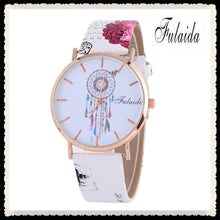 Dreamcatcher Pattern Fashion Women Colored PU Leather Watch