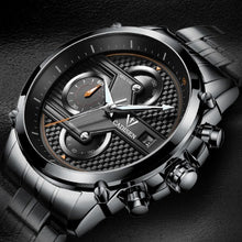 Men's sports watch multi-layer three-dimensional surface men's multi-functional waterproof quartz watch Christmas gift watches