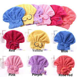2018 New Bath Towels Microfiber Wearable Fast Drying Spa Magic Bath Towel Quickly Dry Hair Hat Wrapped Towel Bath Home Textile