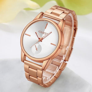 2017 luxury Brand Fashion Watch Woman Dress Watch Ladies Gold Stainless Steel relogio feminino Clock female relojes mujer #43
