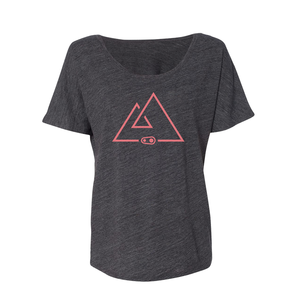 Horizon Slub Tee - Grey
