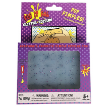 Pop it Pal® GLITTER EDITION: Pimple Popping Toy with Refillable Pus