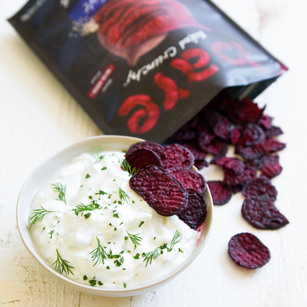 simple yogurt herb dip