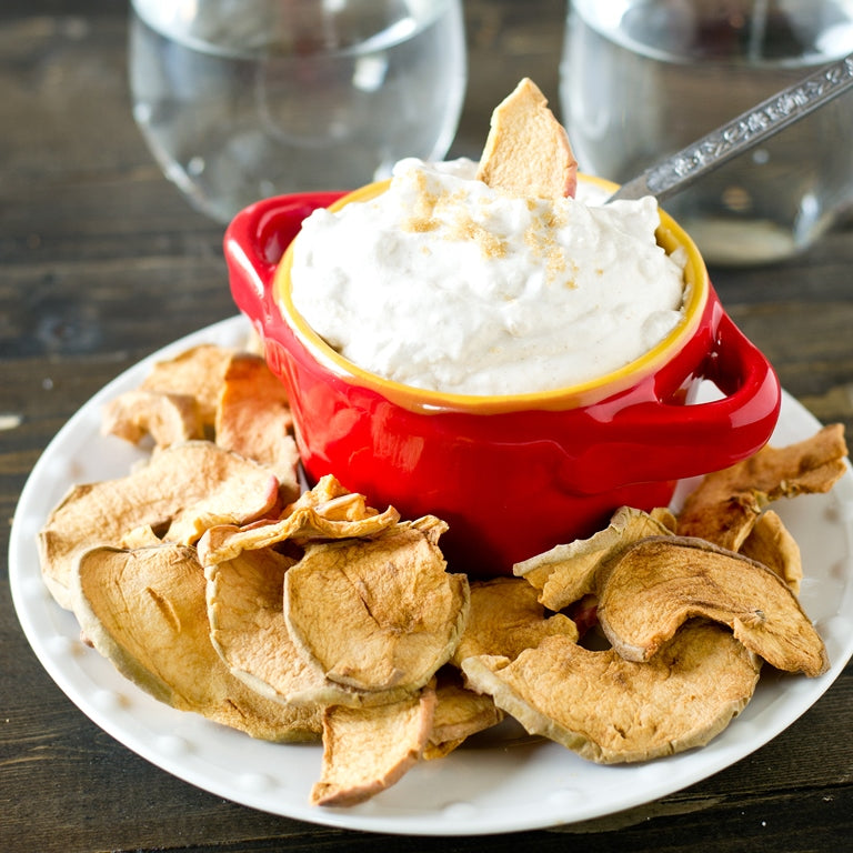 whipped cream apple dip