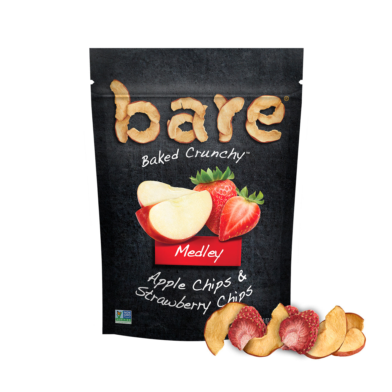 medley apple strawberry chips
