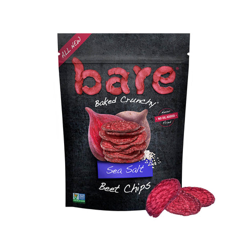 sea salt beet chips