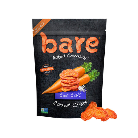 sea salt carrot chips
