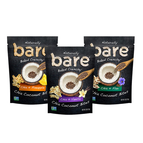 chia coconut bites variety pack
