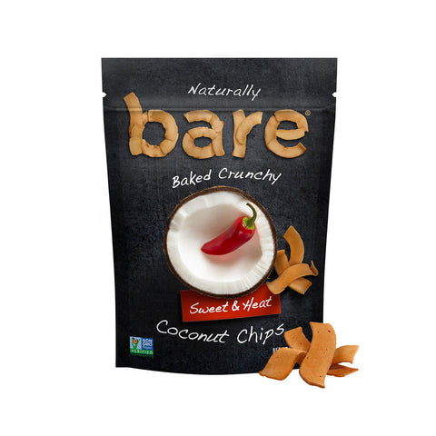 sweet & heat coconut chips