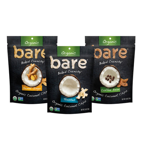 organic coconut chips variety pack