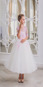 Dreamy Bride's FlowerGirl Gown