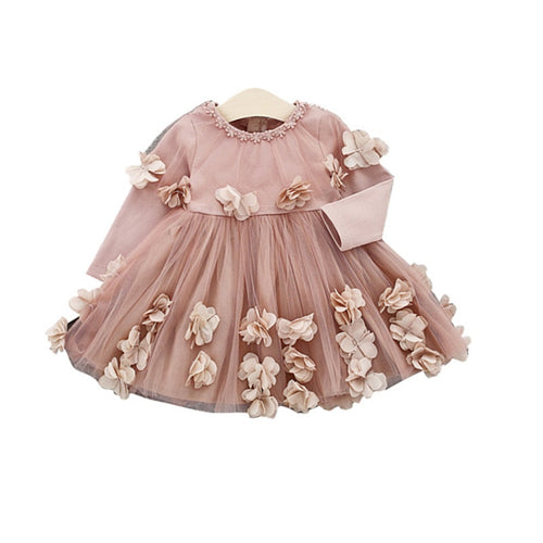 Flowered Dream Toddler Gown