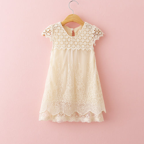 Lace Princess Dress Fashion
