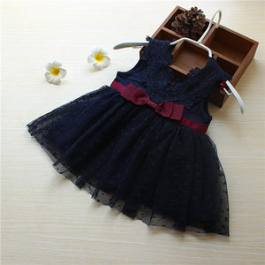 Very Beautiful Bow Baby Girl Dress