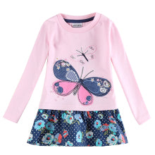 Brilliant Butterfly Casual Dress