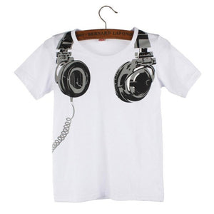 DJ Headphone Tee Shirt