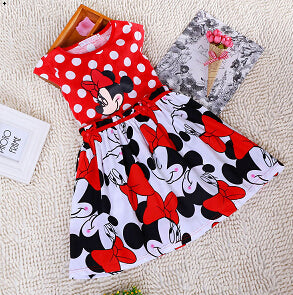 Minnie Cartoon Dress