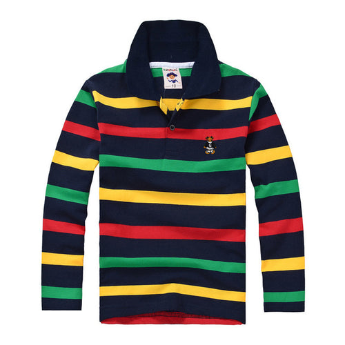 High Quality Striped Polo Shirts