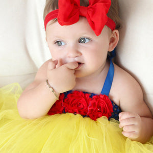 Baby Snow White Tutu & Headband