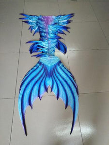 Awe Inspiring MonoFin Designed Mermaid Tail & Top Sets