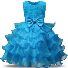Ruffles Lace Princess Tutu Gown  Graduation Ceremony Formal Party Wedding Dress
