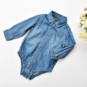 Denim Onesey Dress Shirt