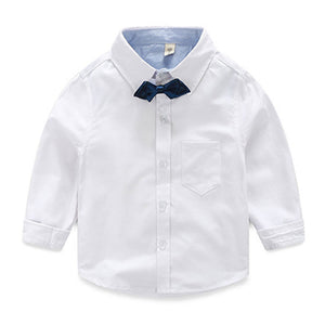 Gentlemanly Cartoonish Back Top Quality Cotton Oxford