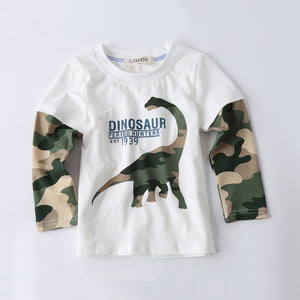 Cool Cartoon Dinosaur T-Shirt