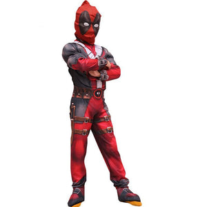 Anti-Hero Deadpool Costume Muscle Deluxe