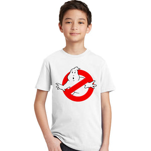 Ghostbusters T Shirt Kid 100% Cotton Crew Neck