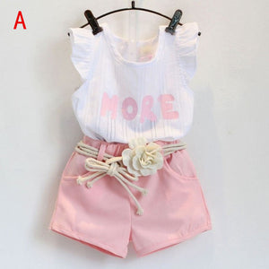 Fly Away Shirt/Shorts Summer Set
