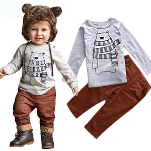 Chilly Bear Cartoon 2Pc. Set