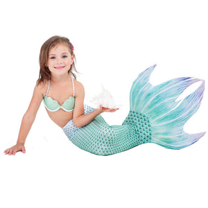 Dreams Come To Reality Mermaid Bikin Top Set with Monofin