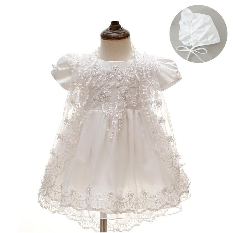 Daniella 3Pc. Christening Gown